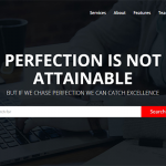 Perfection – Bootstrap Responsive Template